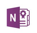 Microsoft OneNote Logo. Microsoft OneNote Training by Lingford Consulting