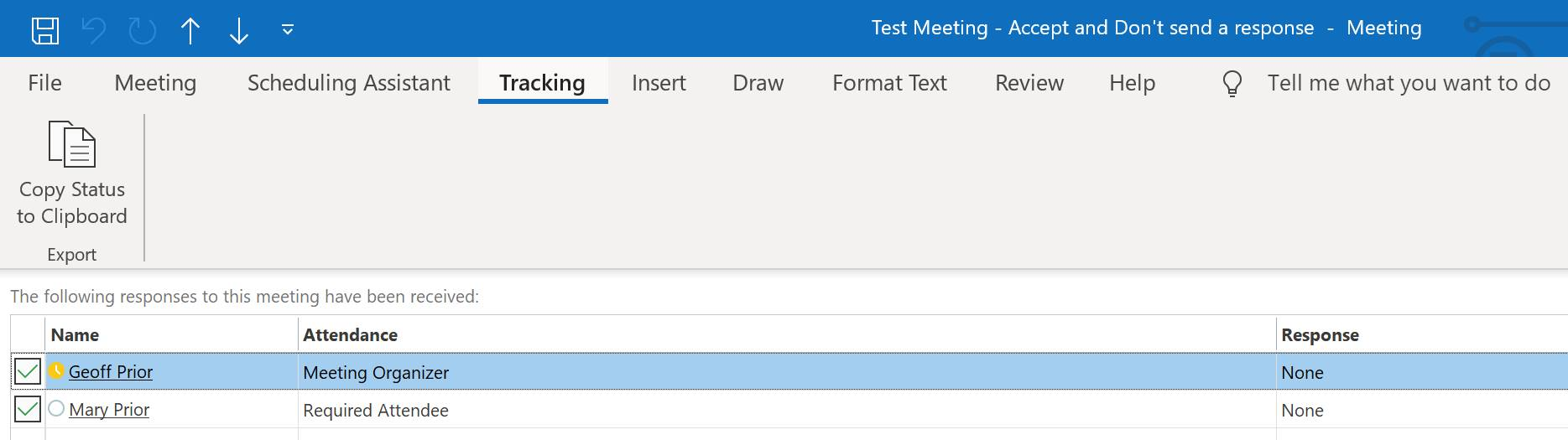 Are you accepting your meeting invites in Outlook correctly?